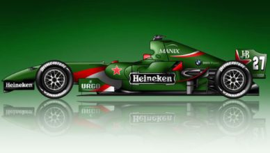 heineken stapt in formule 1