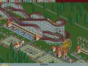 RolleCoaster Tycoon game