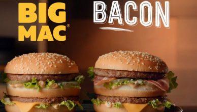 big mac met bacon