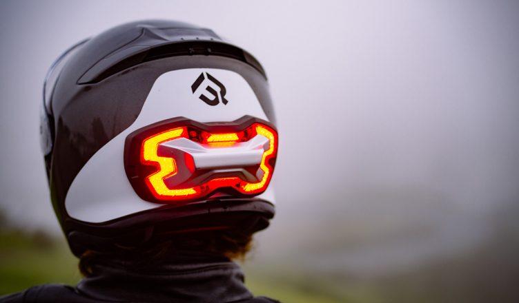 brake free helmet remlicht voor helm