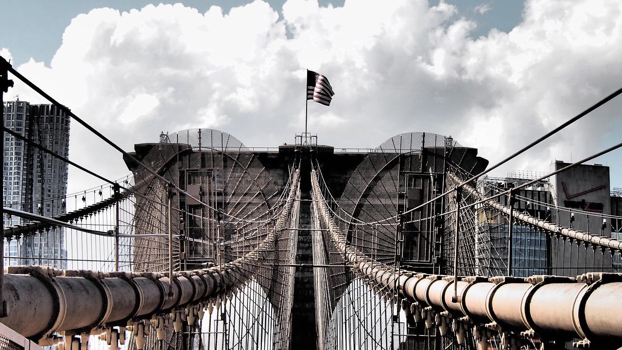 brooklyn bridge is een mooie plek