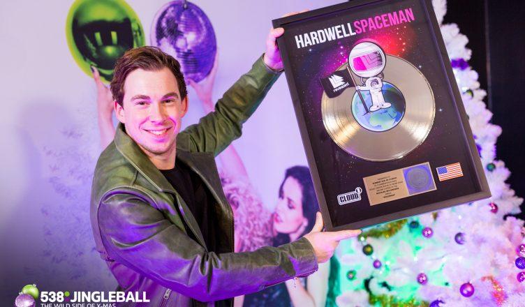 Gouden award voor hardwell