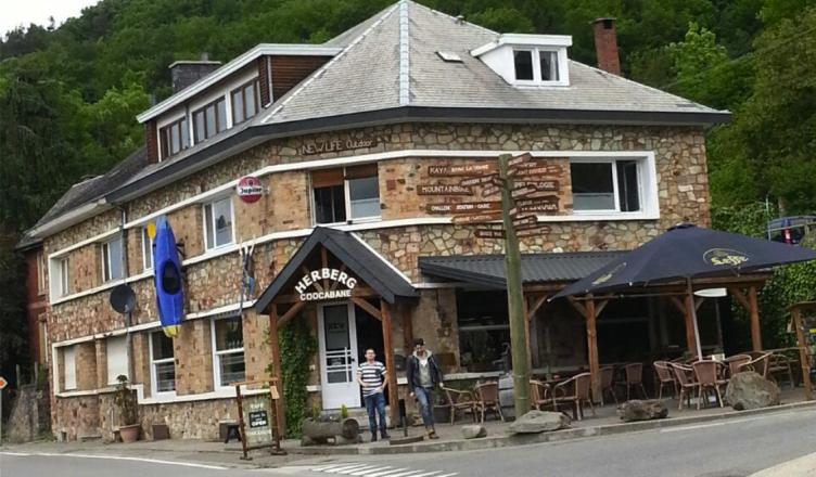 Herberg CooCabane in de Ardennen