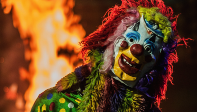 horror clown in nederland