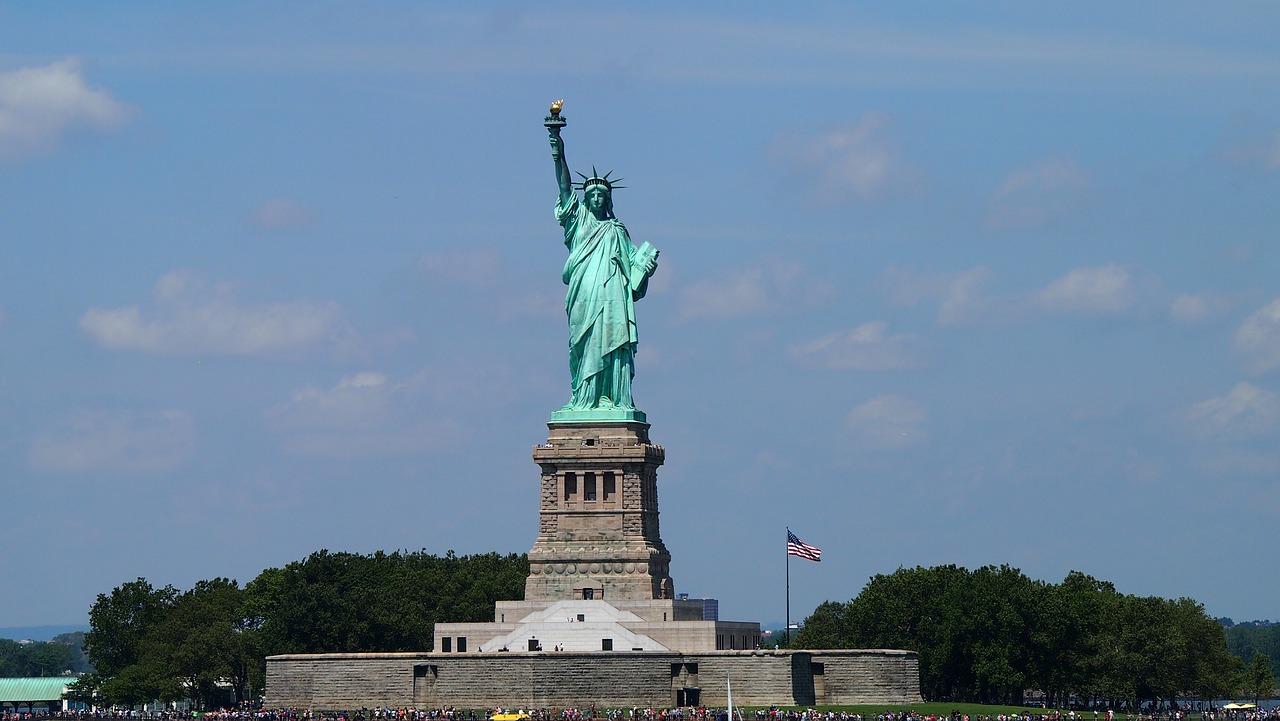 liberty island in new york