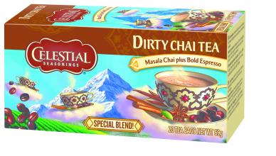 mix van thee en koffie