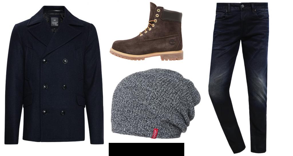 outfit tijdens de winter voor mannen