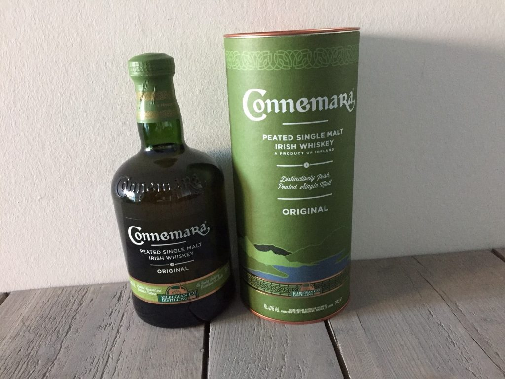 peated malt whisky connemara fles