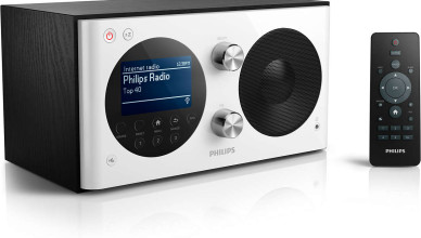philips radio met internet