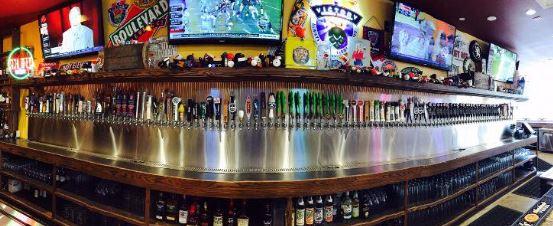 pint room bier van de tap