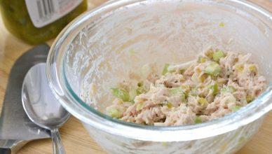 recept om zelf tonijnsalade te maken