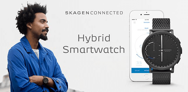 skagen connected hybrid