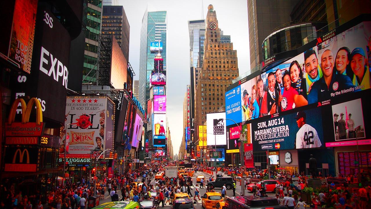 times square new york bezoeken