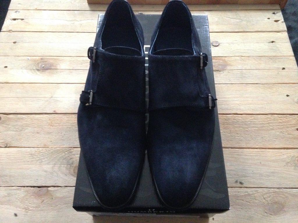 vooraanzicht van humberto schoenen