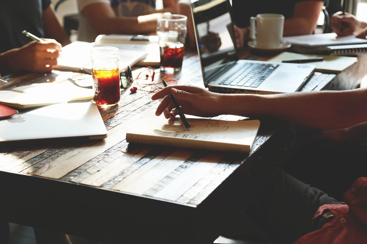 werken bij een blog