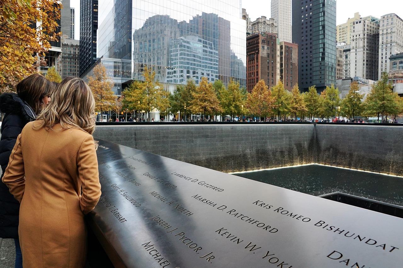 world trade center memorial plek