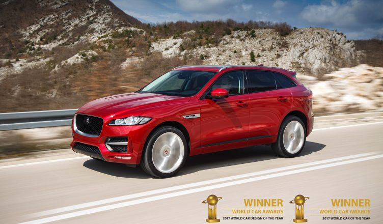 Jaguar F Pace Winnaar Als Mooiste Auto Ter Wereld Thedudes Nl